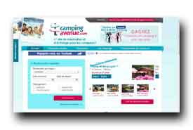 screenshot de www.campingavenue.com