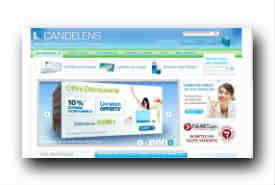 screenshot de www.candelens.fr