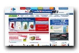 screenshot de www.carrefour.fr
