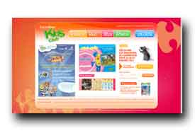screenshot de www.carrefourkidsclub.fr