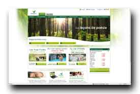 screenshot de www.centerparcs.fr