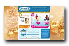 screenshot de www.centrakor.com