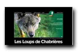 screenshot de www.loups-chabrieres.com