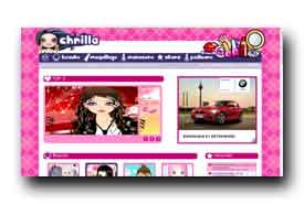 screenshot de www.chrilla.com