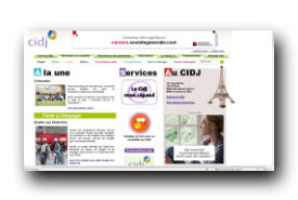 screenshot de www.cidj.com