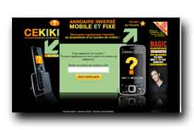 screenshot de www.cekiki.com