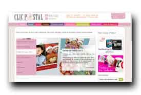 screenshot de www.clicpostal.com
