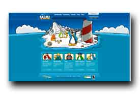screenshot de www.clubpenguin.com