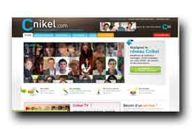 screenshot de www.cnikel.com
