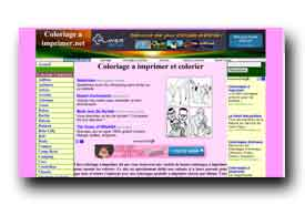screenshot de www.coloriageaimprimer.net