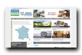 screenshot de www.construiresamaison.com