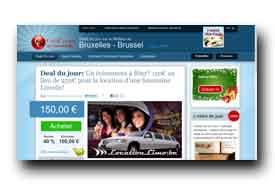 screenshot de www.coolcoups.be
