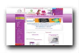 screenshot de www.coudreetbroder.com