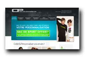 screenshot de www.creer-personnaliser.com