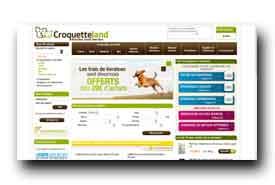 screenshot de www.croquetteland.com