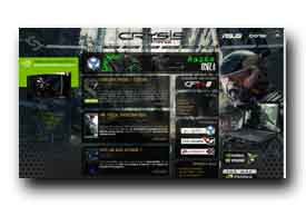 screenshot de www.crysis-france.com