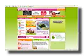 screenshot de www.cuisineaz.com