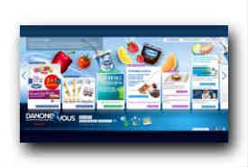 screenshot de www.danoneetvous.com