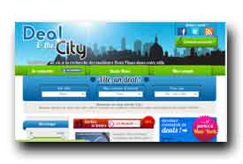screenshot de www.dealandthecity.fr