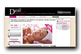 screenshot de www.dealbeaute.com