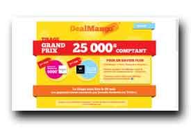 screenshot de www.dealmango.com