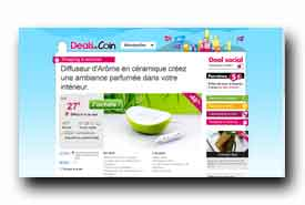 screenshot de www.dealsducoin.fr