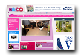 screenshot de www.deco.fr