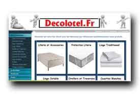 screenshot de www.decolotel.fr