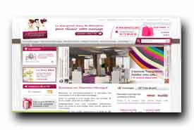 screenshot de www.decoration-mariage.fr