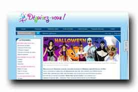 screenshot de www.deguisez-vous.be