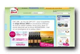 screenshot de www.deindeal.ch