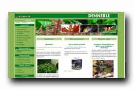screenshot de www.dennerle.eu/fr