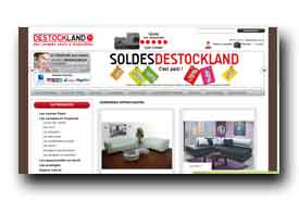 screenshot de www.destockland.fr