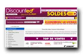 screenshot de www.discounteo.com