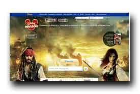 screenshot de www.disneyprivileges.fr