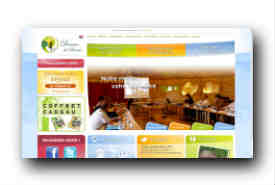 screenshot de www.domaine-de-dienne.fr