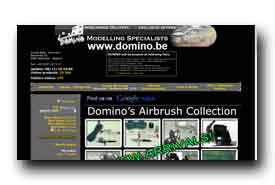 screenshot de www.domino.be