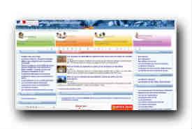 screenshot de www.douane.gouv.fr