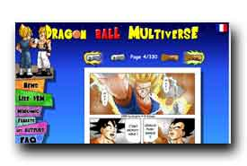 screenshot de www.dragonball-multiverse.com