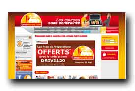 screenshot de www.drivemarche.com