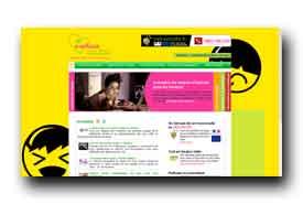 screenshot de www.e-enfance.fr