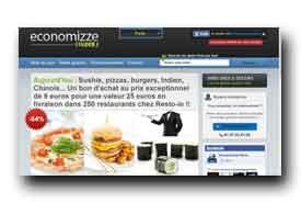 screenshot de www.economizze.fr