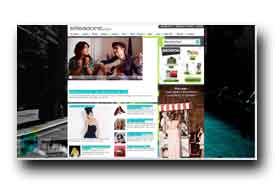 screenshot de www.elleadore.com