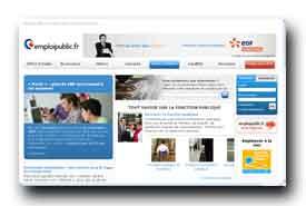 screenshot de infos.emploipublic.fr
