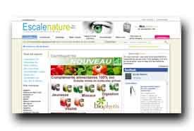 screenshot de www.escalenature.fr