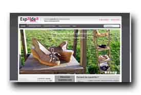 screenshot de www.espaldea.com