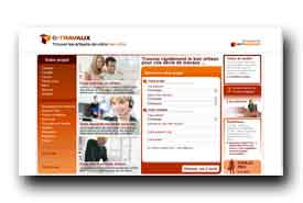 screenshot de www.e-travaux.com
