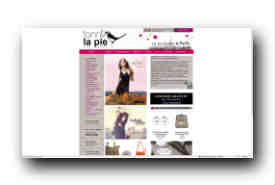 screenshot de www.fanny-la-pie.com
