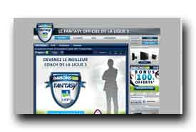 screenshot de www.fantasylfp.fr