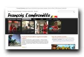 screenshot de www.francois-lembrouille.com